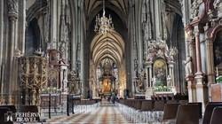 a bécsi Szent István-dóm impozáns belső tere