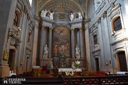 Pápa – Nagy templom belsője