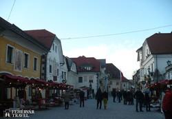 adventi hangulat Radovljicában