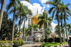 Malajzia egyik legszebb mecsete, az Ubudiah-mecset Kuala Kangsarban