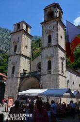a Szent Trifun-székesegyház Kotorban