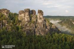a Bastei különleges sziklavilága