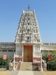 Pushkar egyik gyönyörű temploma