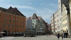 Regensburg óvárosa – részlet