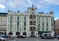 a városháza épülete Gmundenben