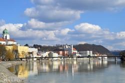 pillantás Passau óvárosára