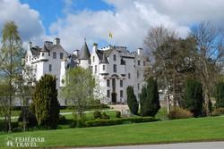 a Blair kastély impozáns épülete