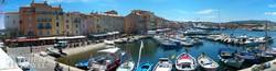 jachtkikötő Saint-Tropez-ban