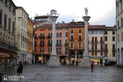 Vicenza belvárosa – részlet