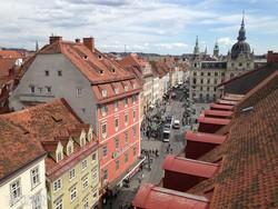 Graz belvárosa – részlet