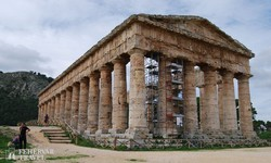 Segesta 2400 éves temploma