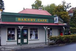 a pékség épülete Arrowtownban, az aranyásók egykori városában