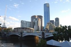 Melbourne legmagasabb felhőkarcolója, a közel 300 méter magas Eureka-torony
