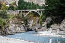 a Shotover folyó kanyonja