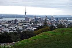 pillantás Auckland belvárosára – a Sky Tower a déli félteke legmagasabb tornya