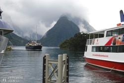 hajózás a Milford Soundon