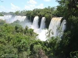 az Iguassu-vízesések – részlet