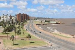 tengerparti sétány Montevideoban