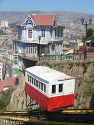 Valparaiso – egy sikló, útban a Playa Ancha kilátóhoz
