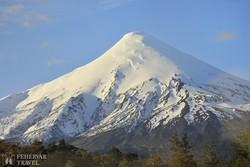 az Osorno vulkán Dél-Chilében