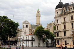 a Cabildo épülete Buenos Airesben