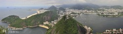 Rio: panoráma a Cukorsüveg-hegyről