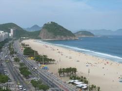 a Copacabana Rióban