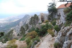 Szt. Hilarion vára Észak-Cipruson