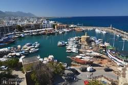 Kyrenia hangulatos kikötője