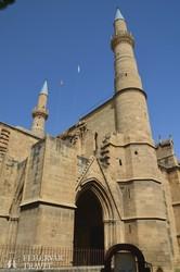 az impozáns Selimiye-mecset Észak-Nicosiában