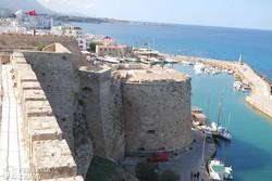 Kyrenia – kilátás az erődből