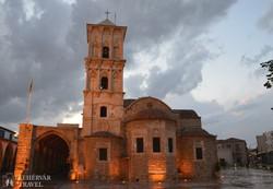 a Szt. Lázár-templom Larnacán