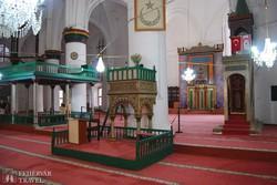 a Selimiye-mecset egy belső részlete