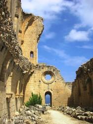 Bellapais – a kolostor egy részlete