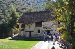 a XI. századi Ayios Nikolaos-templom Kakopetriában