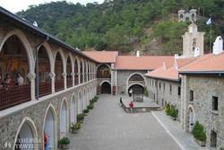 a Kikko-kolostor egyik udvara