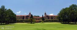 a Parlament épülete Pretoriában