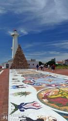 Port Elizabeth: színes mozaik a város jelképeivel