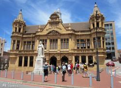 a könyvtár épülete Port Elizabeth-ben