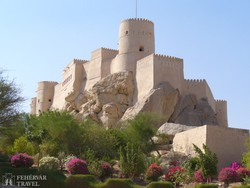 a Nakhl erőd Ománban