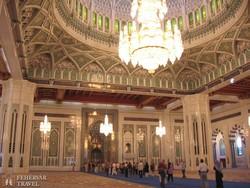 az Ezeregyéjszaka mecset belülről