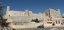 Bahla hatalmas erődrendszere Ománban