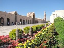 az Ezeregyéjszaka mecset Omán fővárosában, Muscatban