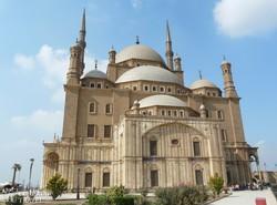 a Mohamed Ali mecset Kairóban