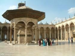 Kairó – a Mohammed Ali mecset udvara