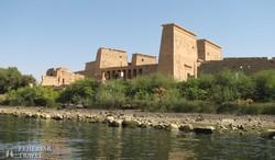 a Philae templomegyüttes Asszuán mellett