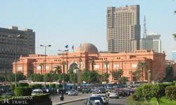 a híres Egyiptomi Múzeum Kairóban