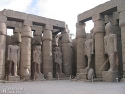 a Luxori-templom – részlet