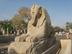 Szfinx szobor Memphisben