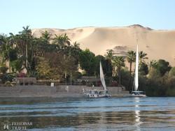 felukkázás a Níluson